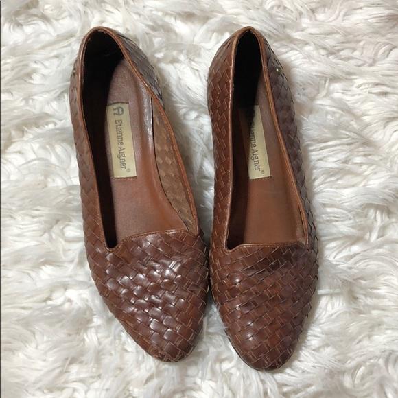 3eb82b1516ea Etienne Aigner Shoes - Etienne Aigner women s woven flats
